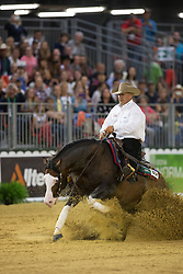 Shawn Flarida, (USA), Spooks Gotta Whiz - Team Competition and 1st individual qualifying  - Alltech FEI World Equestrian Games™ 2014 - Normandy, France.<br /> © Hippo Foto Team - Dirk Caremans<br /> 25/06/14