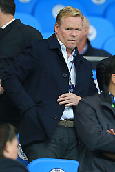 17th October 2017 - UEFA Champions League - Group F - Manchester City v Napoli - Everton manager Roland Koeman watches from the stands - Photo: Simon Stacpoole / Offside.