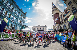 Riders at start in Celje during Stage 3 of 24th Tour of Slovenia 2017 / Tour de Slovenie from Celje to Rogla (167,7 km) cycling race on June 16, 2017 in Slovenia. Photo by Vid Ponikvar / Sportida