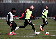 Oli McBurnie of Sheffield Utd during a training session at the Steelphalt Academy, Sheffield. Picture date: 5th March 2020. Picture credit should read: Simon Bellis/Sportimage