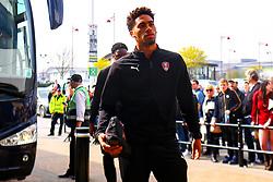 Zak Vyner of Rotherham United arrives at the Pride Park Stadium, home to Derby County - Mandatory by-line: Ryan Crockett/JMP - 30/03/2019 - FOOTBALL - Pride Park Stadium - Derby, England - Derby County v Rotherham United - Sky Bet Championship