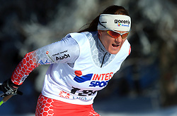 Slovenian cross-country skier Petra Majdic at 10th OPA - Continental Cup 2008-2009, on January 17, 2009, in Rogla, Slovenia.  (Photo by Vid Ponikvar / Sportida)
