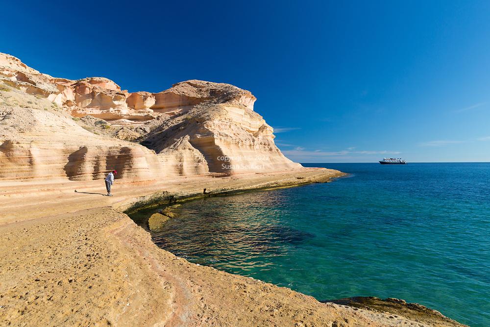 Punta Colorado, Isla San Jose, Baja, Mexico, Gulf of California