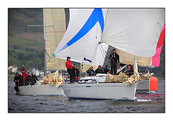 Savills Kip Regatta 2011, the opening regatta of the Scottish Yachting Circuit, held on the Clyde...Carmen II, IRL 1666, First 36.7.