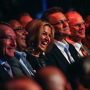 NLD/Rotterdam/20101003 - Uitreiking Edison Popprijzen 2010, lachende pr. Maxima
