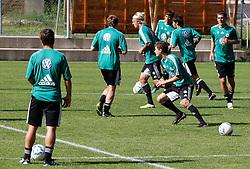 19.07.2011, Bad Kleinkirchheim, AUT, Fussball Trainingscamp VFL Wolfsburg, im Bild Spieler, EXPA Pictures © 2011, PhotoCredit: EXPA/Oskar Hoeher