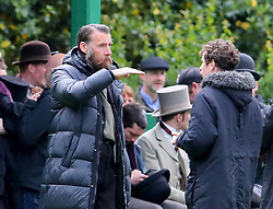"""A park in Altrincham, Manchester is transformed into a Victorian football ground for a match between Darwen v Old Etonian as filming for """"The English Game"""" which is a new drama by """"Downton Abbey """" creator Julian Fellowes begins. The drama is about how modern day football grew and how the FA was formed. Craig Parkinson is pictured"""