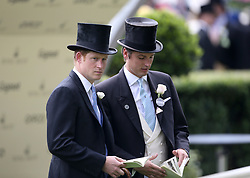 File photo dated 16/06/15 of Prince Harry and Jake Warren. The Duchess of Sussex looks set to have turned to her inner circle of faithful friends for son Archie's godparents.
