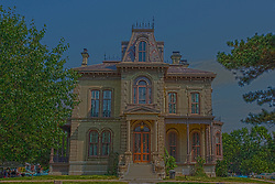 7 August 2010:  David Davis Mansion, Bloomington Illinois<br />