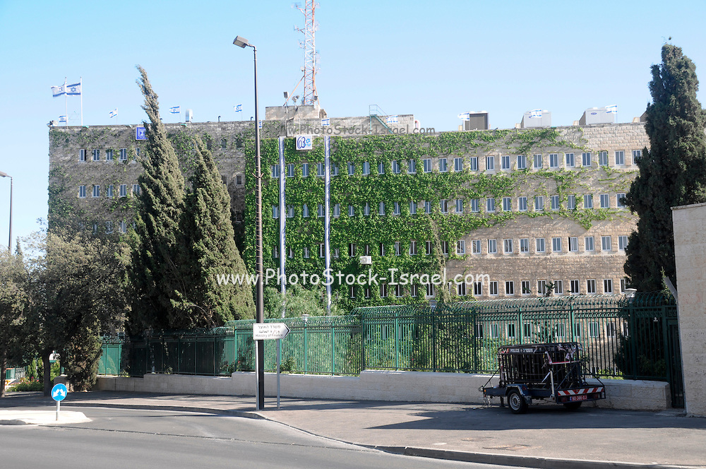 Israel, Jerusalem, The Ministry of Finance
