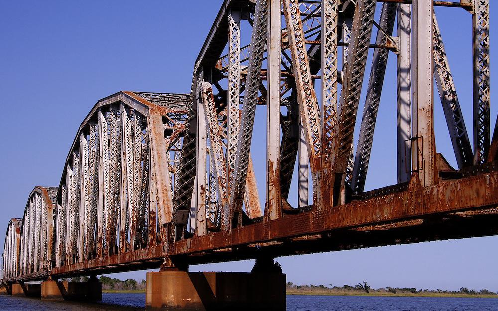 Railroad Bridge Over The Rigolets
