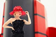 Cunard hat by Stephen Jones QM2