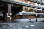 Vaping on the street in Birmingham, United Kingdom.