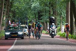 Leading group during 2019 Dutch National Road Race Championships Men Elite, Ede, The Netherlands, 30 June 2019, Photo by Pim Nijland / PelotonPhotos.com   All photos usage must carry mandatory copyright credit (Peloton Photos   Pim Nijland)