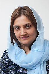 Portrait of woman. (NOT to be represented as Muslim)