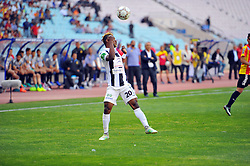 May 7, 2017 - Rades, Tunisia - Sokary Kingsley (20) Nigerian player of the CSS in action during the match between his team against EST..Match of the 9th day of play-offs of the Tunisian championship between the sporting esperance of Tunis (EST) and the sports club of Sfax (CSS) at Rades stadium. (Credit Image: © Chokri Mahjoub via ZUMA Wire)