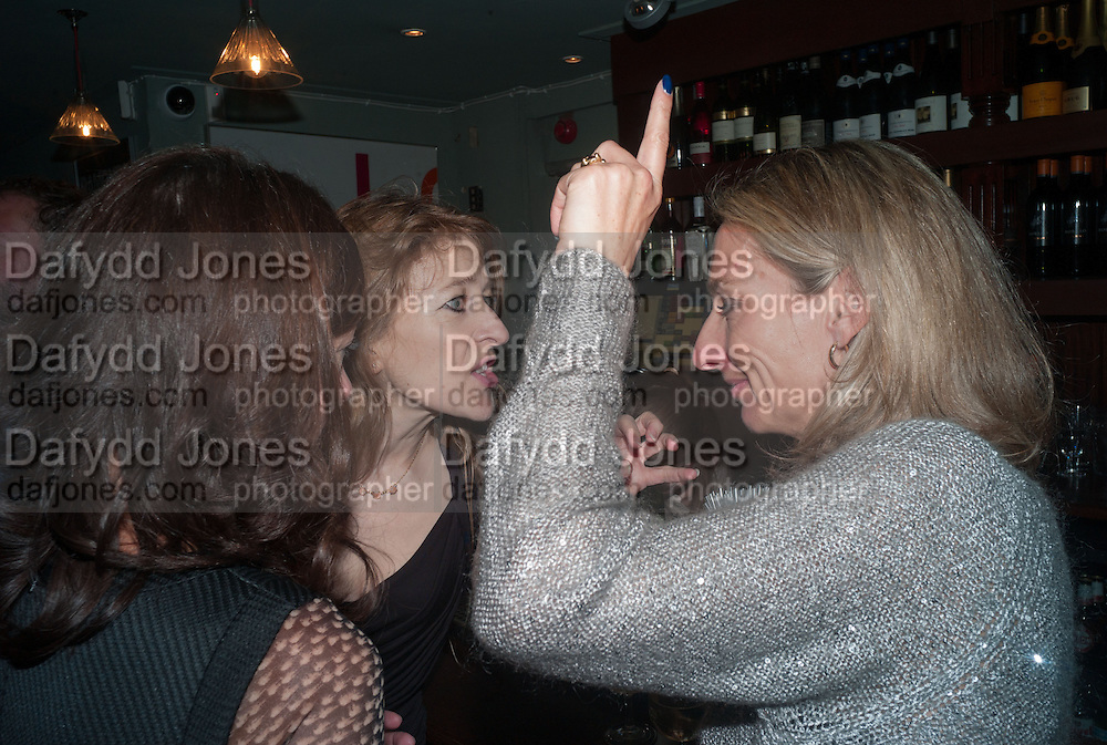 CHARITY CREWE; DAISY WAUGH, Party to celebrate the publication of 'Winter Games' by Rachel Johnson. the Draft House, Tower Bridge. London. 1 November 2012.