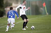 Fotball, 8. mars 2010 , Privatkamp , La Manga<br /> Sogndal - Sarpsborg 08<br /> <br /> Ørjan Hopen , Sogndal