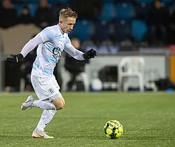 Jeppe Kjær (FC Helsingør) under kampen i 1. Division mellem HB Køge og FC Helsingør den 4. december 2020 på Capelli Sport Stadion i Køge (Foto: Claus Birch).