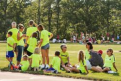 Family Fin Run night at Falmouth High School