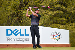 March 23, 2018 - Austin, TX, U.S. - AUSTIN, TX - MARCH 23: Bubba Watson watches his tee shot during the third round of the WGC-Dell Technologies Match Play on March 23, 2018 at Austin Country Club in Austin, TX. (Photo by Daniel Dunn/Icon Sportswire) (Credit Image: © Daniel Dunn/Icon SMI via ZUMA Press)