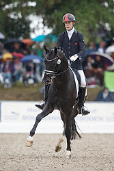 Hassani Naoufal, (MAR), Quazotti<br /> First Qualifier 6 years old horses<br /> World Championship Young Dressage Horses - Verden 2015<br /> © Hippo Foto - Dirk Caremans<br /> 07/08/15