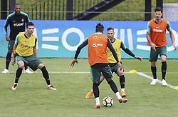 May 23, 2018 - Na - Oeiras, 22/05/2018 - Pepe e Quaresma durante o primeiro treino da selecção nacional de preparação do Mundial FIFA de futebol Russia2018, esta tarde na Cidade do Futebol. (Credit Image: © Atlantico Press via ZUMA Wire)