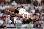 Nafissatou Thiam (BEL) competes in High Jump Women during the Meeting de Paris 2018, Diamond League, at Charlety Stadium, in Paris, France, on June 30, 2018 - Photo Julien Crosnier / KMSP / ProSportsImages / DPPI