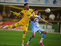 Football - 2021 / 2022 EFL Papa John's Trophy - Round One - Sutton United  vs Crystal Palace U21 - VBS Community Stadium, Gander Green Lane - Tuesday 31st August 2021<br /> <br /> Richie Bennett of Barnet<br /> <br /> Credit : COLORSPORT/Andrew Cowie
