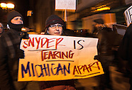 Right to Work Protest Michigan