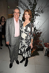 GERALD SCARF and JANE ASHER at a reception before the launch of the English National Ballet Christmas season launch of The Nutcracker held at the St,Martins Lane Hotel, London on 5th December 2008.