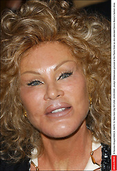 © Nicolas Khayat/ABACA. 34870-10. New York City-NY-USA, 20/05/2002. Jocelyn Wildenstein pictured at the Pierre Hotel as she attended Dennis Basso's fashion show.  | 34870_10