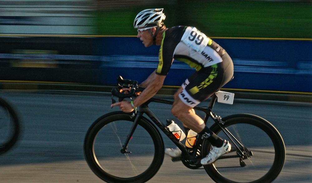 RadSport bike race, motion, West Reading. Berks Co., PA