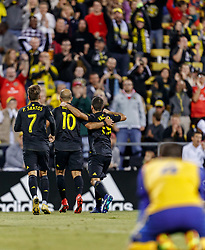September 22, 2018 - Columbus, OH, U.S. - COLUMBUS, OH - SEPTEMBER 22: Columbus Crew forward Federico Higuain (10) celebrates after scoring a goal in the MLS regular season game between the Columbus Crew SC and the Colorado Rapids on September 22, 2018 at Mapfre Stadium in Columbus, OH. The Crew won 2-1. (Photo by Adam Lacy/Icon Sportswire) (Credit Image: © Adam Lacy/Icon SMI via ZUMA Press)