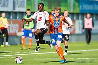 Fotball , 8 Mai 2016 , Tippeligaen , Eliteserien , Aalesund - Sogndal , Gilbert Koomson , Peter Orry Larsen<br /> <br /> Foto: Marius Simensen, Digitalsport
