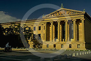 Philadelphia Museum of Art, Northeast Facade, Columns Minnesota Dolomite, Sculptures, Philadelphia, PA