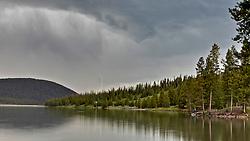 Lightning strike, Hyalite Canyon, Bozeman Monatana
