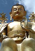 Buddha at temple - Ley - Ladakh 2006