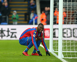 February 4, 2018 - London, England, United Kingdom - Crystal Palace's Christian Benteke..during Premier League match between Crystal Palace and Newcastle United at Selhurst Park Stadium, London,  England on 04 Feb 2018. (Credit Image: © Kieran Galvin/NurPhoto via ZUMA Press)