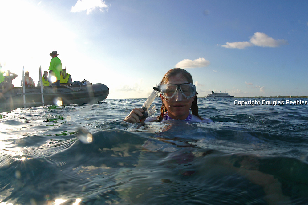 Snorkling, South Pacific<br />