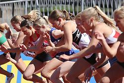 Start of the 1500m B race. Folksam Grand Prix Göteborg, Slottskogsvallen, 14. juni 2014.