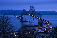 Astoria-Megler Bridge & Columbia River, Astoria, Oregon, USA