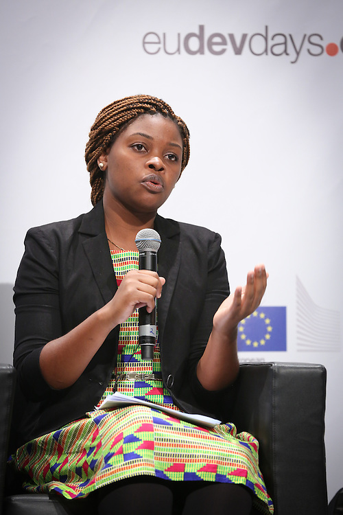 03 June 2015 - Belgium - Brussels - European Development Days - EDD - Food - Feeding the planet together - Catherine Mloza Banda , Future Leader © European Union