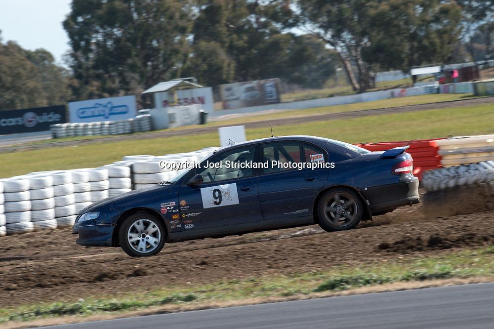 Andrew McNay - Holden Commodore - Rallycross Australia - Winton Raceway - 16th July 2017