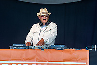 Craig Charles live at  KNEBWORTH Pub in the park Drive in  Garden Party photo by Mark Anton Smith