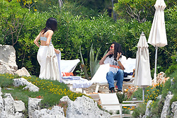 Kendall Jenner and Luka Sabbat at Eden Roc during Cannes Film Festival. 23 May 2019 Pictured: Kendall Jenner and Luka Sabbat at Eden Roc during Cannes Film Festival. Photo credit: Thibaut Daliphard/EliotPress / MEGA TheMegaAgency.com +1 888 505 6342