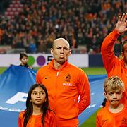 NLD/Amsterdam/20121114 - Vriendschappelijk duel Nederland - Duitsland, Arjen Robben, Rafael van der Vaart