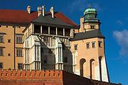 """Wieża Kurza Stopka, Wawel<br /> Wawel Castle as seen from Grodzka Street – """"Kurza Stopka"""" tower, Cracow, Poland"""