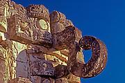MEXICO, MAYAN, YUCATAN Kabah; Palace of the Chac Masks