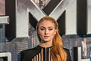 Sophie Turner (Jean Grey) - The 'global fan screening' of Twentieth Century Fox's X-Men Apocalypse at the BFI IMAX at Waterloo.